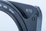 Kase K75 Houder + 62 adapterring_