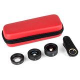 Kase Smartphone lens kit Fashion (3in1) Red_
