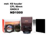 Kase KW100 Entry level kit K9 + ND1000_