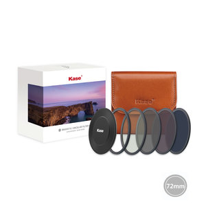 Kase Professional ND kit 72mm CPL+ND64+ND8+ND1000