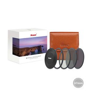 Kase Entry ND kit 67mm CPL+ND64+ND8